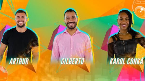 Karol, Arthur e Gil estão no paredão do BBB 21; veja como votar