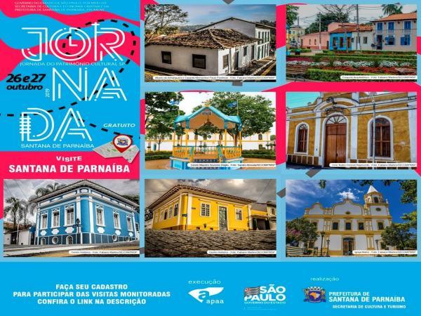 Jornada do Patrimônio conta histórias de Santana de Parnaíba por meio de ruas e construções