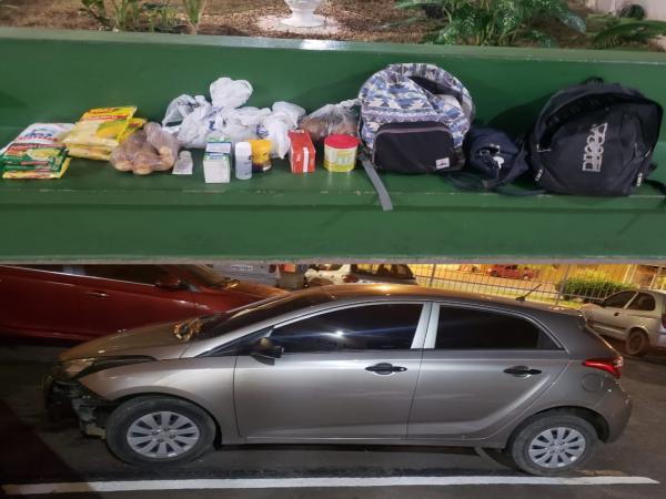 Polícia Militar recupera carro roubado e apreende arma em Cajamar