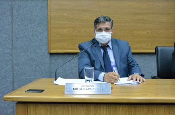Adilson Aparecido solicita a instalação de tendas nas agências bancárias