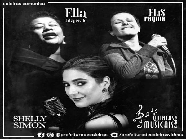 Quintas Musicais: Caieiras recebe show de tributo as cantoras Ella Fitzgerald e Elis Regina