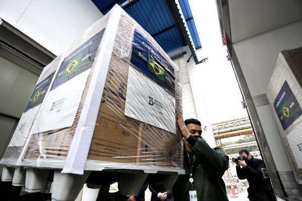 Butantan entrega mais um lote da CoronaVac ao Ministério da Saúde