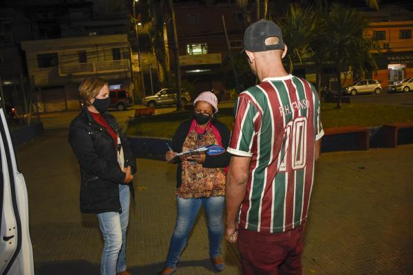 Com chegada de frente fria, região de Cajamar reforça ações para população de rua