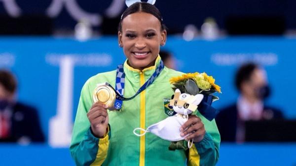 Rebeca Andrade conquista o ouro no salto e faz história nas Olimpíadas