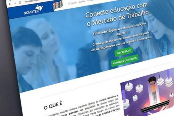 Novotec Expresso prorroga inscrições para cursos de qualificação profissional