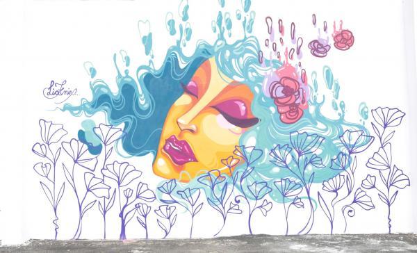 Mulheres grafiteiras ganham edição especial no projeto 'Murais de Arte Urbana' em Caieiras