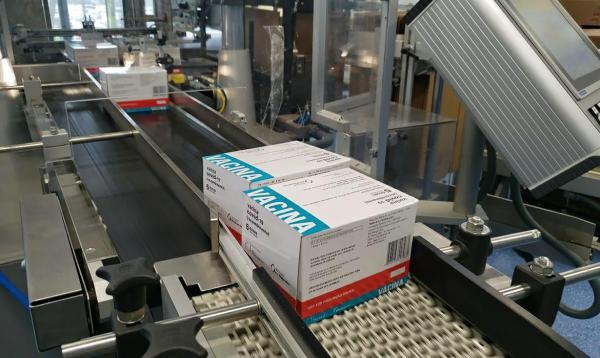 Fiocruz retoma entrega de doses da AstraZeneca ao Ministério da Saúde