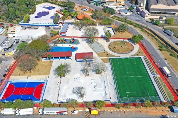 1° Parque Municipal de Cajamar será inaugurado hoje (12)