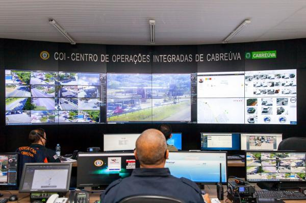 Cabreúva ganha mais segurança com instalação do Centro de Operações Integradas