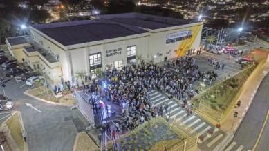 Inauguração da Arena de Eventos em Santana de Parnaíba